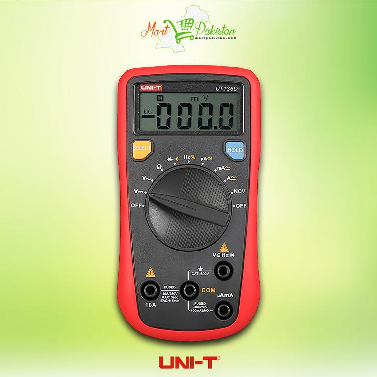 Ut136d Handheld Auto Ranging Digital Multimeters Mart