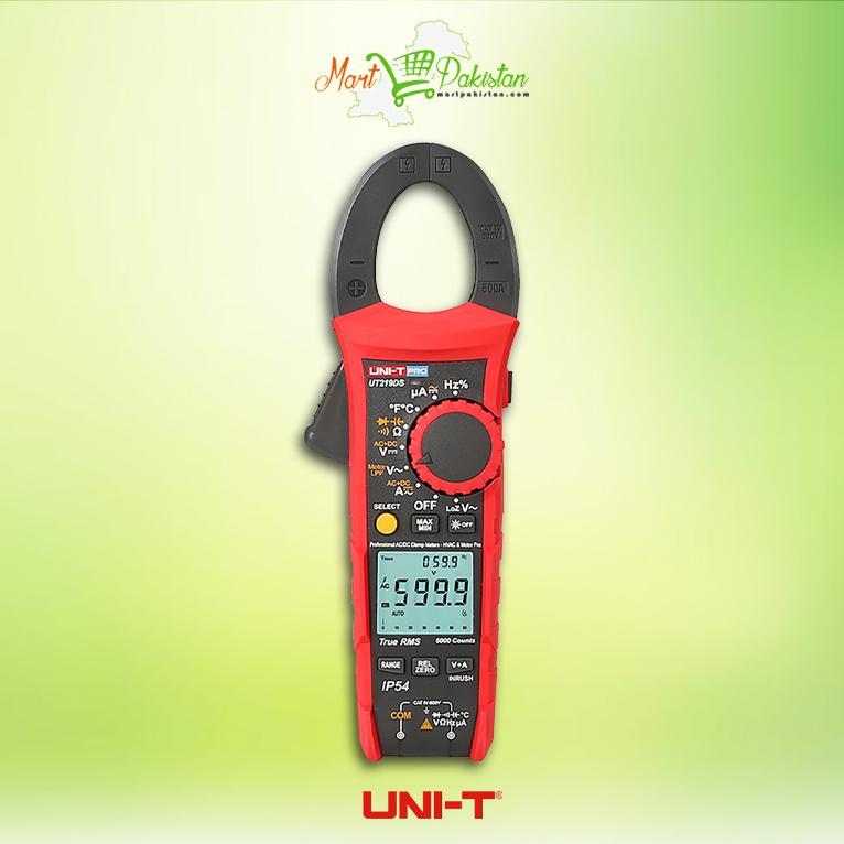 UNI-T UT204A 400A//600A AC//DC Digital Clamp Meter with Hall-effect sensorand