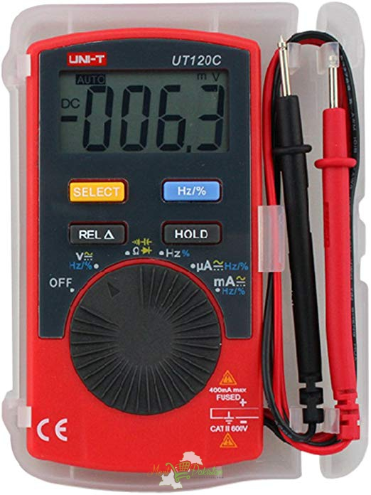UT120C Pocket Size Type Digital Multimeters