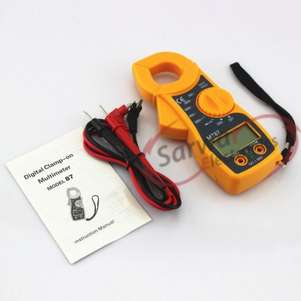 MT87 3 1/2 Digits LCD Digital Clamp Meter