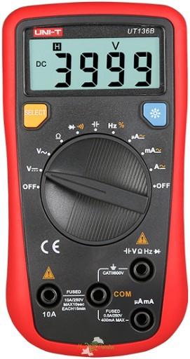 UT136B Handheld Auto-ranging Digital Multimeters