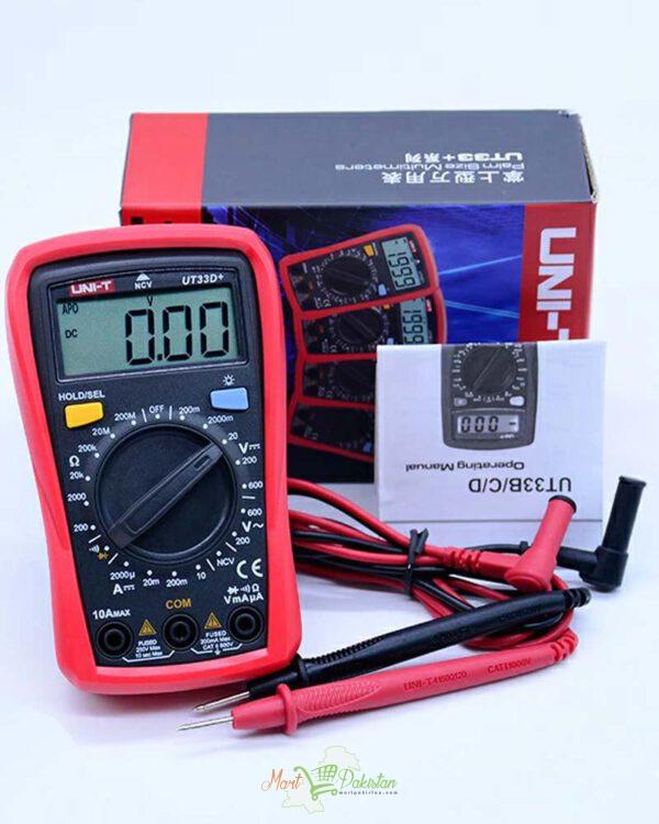 UT33D+ Palm Size Multimeter