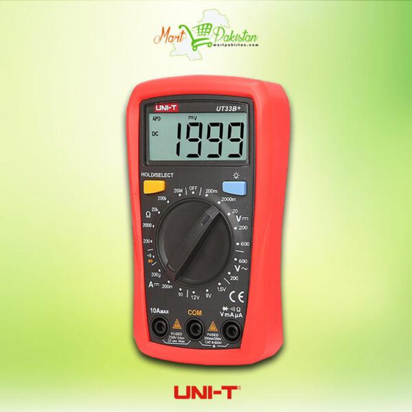 UT33B+ Palm Size Multimeter