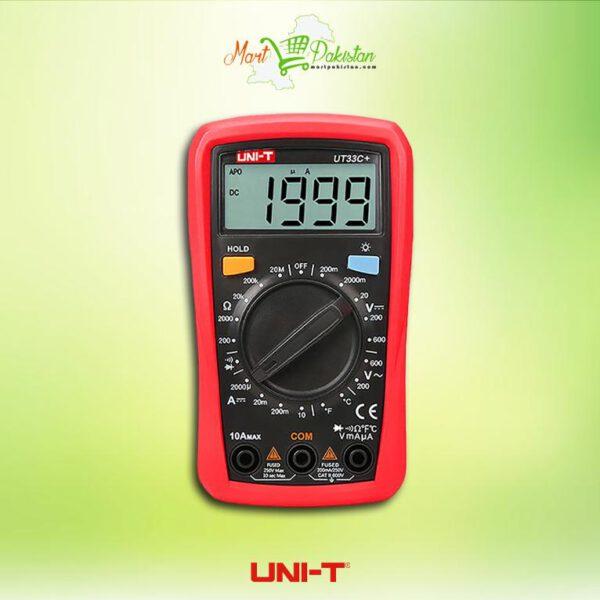 UT33C+ Palm Size Multimeter