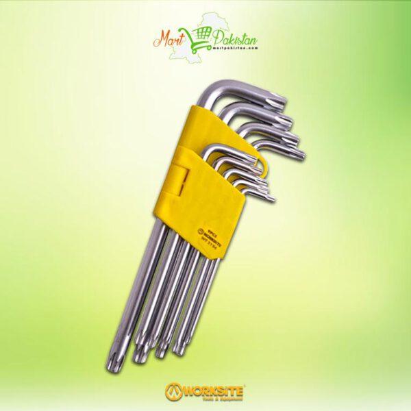 WT 2154 Torx Allen Key Wrench Set