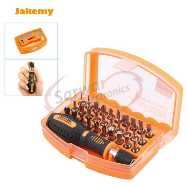 JM-610331in 1 Interchangeable Magnetic Screwdriver Set