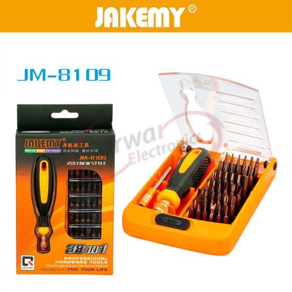 JM-8109 38 in 1 Screwdriver Kit Repair Tool