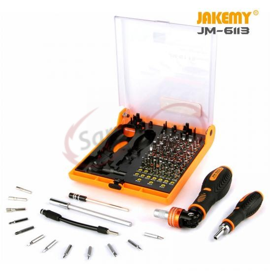 JM-6113 Precision Ratchet Screwdriver Set