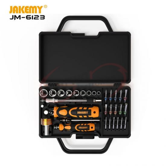 JM-6123 Colorful Ring Hardware Hand Tool Set