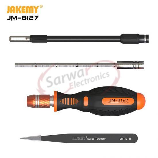 JM-8127 53 In 1 Professional Screwdriver Set Tool Kit