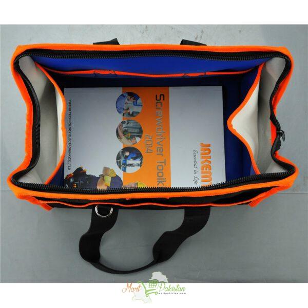 JM-B01 Professional Orange & Black Tool Bag