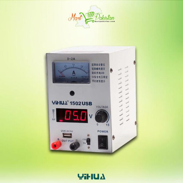 YIHUA1502 D Power Supply with USB Port