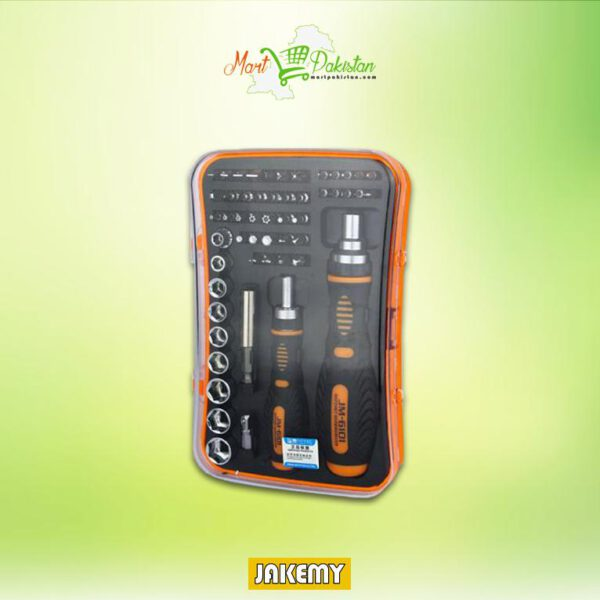 JM-6101 Magnetic Ratchet Screwdriver Set