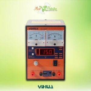 YIHUA 1502D+ DC Power Supply with USB Port