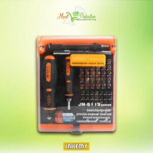 JM-6113 Precision Ratchet Screwdriver Set
