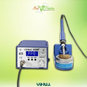 YIHUA 939D+ New Design With Aluminium Alloy Material And 3 Storage Segment Soldering Station