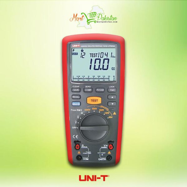 UT505A Handheld Insulation Resistance Tester