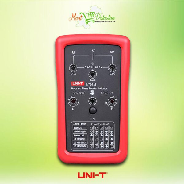 UT261B Phase Sequence and Motor Rotation Indicator