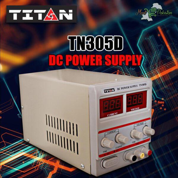 TITAN TN 305DS DC Power Supply