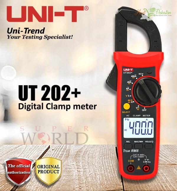 Digital Clamp Meter UT202+ UNI-T