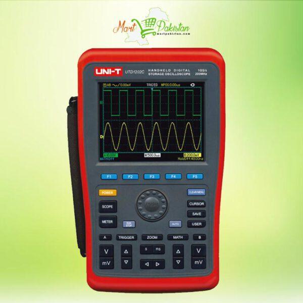 UTD1202C Handheld Digital Storage Oscilloscope